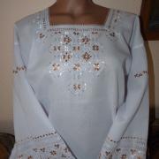 Элитная женская вышиванка ручной работы купить Киев