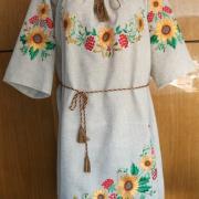 Вышитое платье украинское