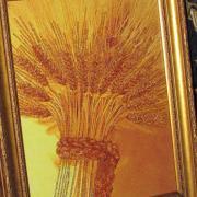 """Вышитая картина бисером """"Сноп пшеницы"""" купить Киев."""