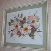 """ФотоВишита картина """"Цвіт яблуні"""""""