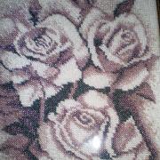 """Вышитая картина бисером """"Розы"""" купить"""