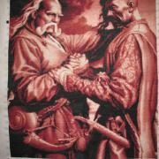 """Вишита картина """"Козаки"""" купити Київ"""