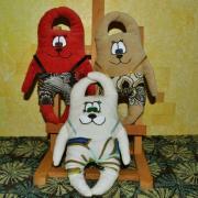 Игрушки зайцы купить