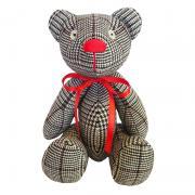 """Авторская игрушка """"Черно-белый Мишка"""" купить"""