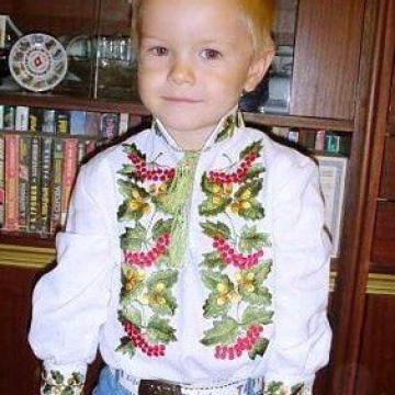 Чоловіча вишиванка українська ручної роботи