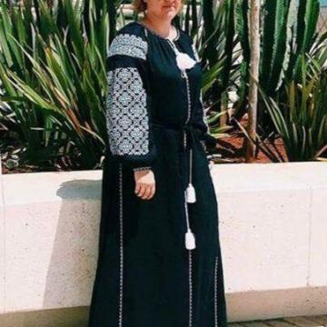 """Жіноча сукня вишиванка в стилі бохо """"Фаіна"""""""