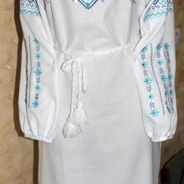 "Жіноча вишита сукня ""Лагуна"""