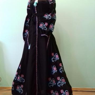 """Жіноча сукня вишиванка бохо """"Магічна квіточка"""""""