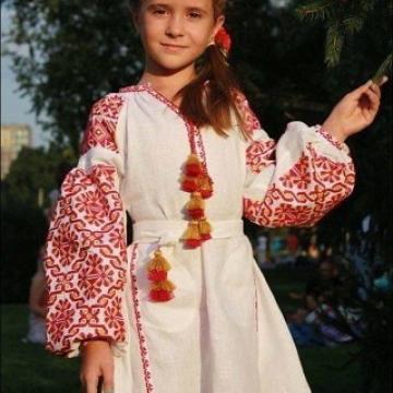 """Дитяча сукня вишиванка в стилі бохо """"Катюша"""""""