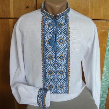 Українська вишиванка чоловіча хрестиком